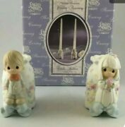 Precious Moments 2000 Wedding Candle Holders848883new
