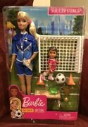 Barbie Careers You Can Be Anything Soccer Coach Doll Playset