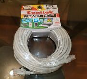 Networking Cable Cat 5e Grey. Sonitek, 50 Ft 15.2, Networking Cables. Brand New