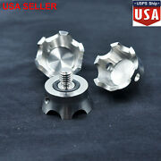 New Stainless Steel Tripod Spike Adapter For Gitzo Gt1531 Gt2541/rrs/benro 3/8