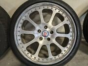 Hre Forged 19 Wheel And Tire Set 5x112 Et35 235/35/19 - Audi Mercedes Benz Bbs