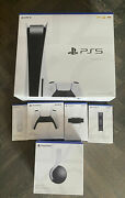 Sony Playstation 5 Ps5 Console Disc Version Bundle With Spiderman Ultimate Ps5