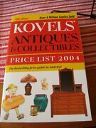 Kovelsand039 Antiques And Collectibles Price List 2004 Book Vgc 36th Edition