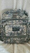 Authentic Us Army National Guard Tactical Digital Camo Backpack Bag J11