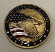 Central Intelligence Agency Cia Executive Travel Support Challenge Coin / Vers 1