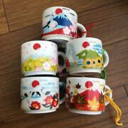 Starbucks You Are Here Collection Japan Ornament Mug Cup Complete Set Of 5 Types