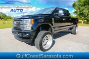 2017 Ford F-250 Platinum Turbo Diesel Lifted 4x4 American Force 2017 Ford F-250 Srw Platinum Turbo Diesel Lifted 4x4 American Force 66355 Miles
