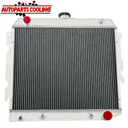 4 Row Aluminum Radiator For 1970-1973 Dodge Plymouth Small Block 22wide Usa