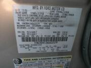 No Shipping Driver Rear Side Door Electric Tinted Fits 05-07 Freestyle 537536