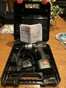 Craftsman 7.2 Volt 3/8 In. Drill With Case, Battery And Charger