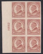 576 - 1andfrac12andcent Imperf 4th Bureau Flat Plate Printing Plate Block - Vf-xf Nh - Cv 45
