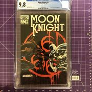 Moon Knight 30 Cgc 9.8 White Pages Marvel Comics 1983 Tough Black Cover