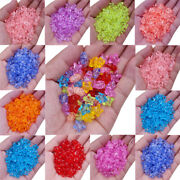 20pcs 11mm Solid Star Diy Craft Loose Beads For Jewelry Making Pendant Wholesale