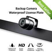 Backup Camera Rearview License Plate Mount Waterproof For Sony Car Radio