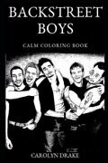 Backstreet Boys Calm Coloring Book, Brand New, Free Shipping In The Us