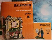Dept 56 Set Of 2 Ouija The Mystifying Oracle And Don't Be A Scaredy-cat Both Bnib