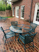 Brown Jordan Tamiami Dining Table, 4 Chairs, 2 Chaise Lounge W/small Table