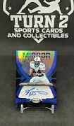 2021 Certified Ricky Williams Blue Mirror Signatures 12/25 Miami Dolphins