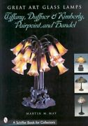 Great Art Glass Lamps , Duffner And Kimberly, Pairpoint, And Handel, H...