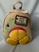 Danielle Nicole Disney Winnie The Pooh Don't Feed The Bear Backpack Sold Out Nwt