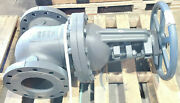 New Nibco 6 Gate Valve Class 250 Cast Iron Outside Screw Yoke Flanged F-667