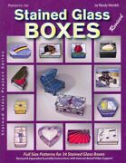 Patterns For Stained Glass Boxes, Paperback By Wardell, Randy A., Like New Us...