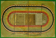 Horse Racetrack Original Hand-painted C1930s Board Game