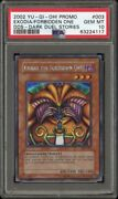 Psa 10 Exodia The Forbidden One Dark Duel Stories Promotional Card Dds-003