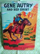 Gene Autry And Red Shirt By Elizabeth Beecher A Sandpiper Book Vtg 1951 Western