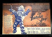 The Invisible Boy 1957 Original Movie Herald - Robby The Robot