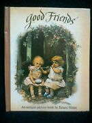 Vintage 1989 Good Friends Pop Up Book / Victorian Scenes / Moseley And Nister