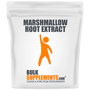 Bulksupplements.com Marshmallow Root Extract Powder - Lung Support Supplement