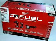 Milwaukee M18 Fuel Grinder, Impact Driver, Hammer Drill 2997-23g Factory Sealed