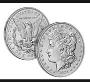 Morgan 2021 Silver Dollars With O Privy Mark 21xd Lot Of 10 In Hand Wednesday