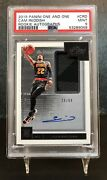 2019-20 One And One Cam Reddish Rookie Auto Jersey Patch Rc Psa 9 Pop 1 Rpa 🔥