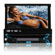 Car Stereo Bluetooth Single Din Radio 7 Inch Touch Screen Gps Cd/dvd Player Swc