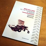 New Holland 912 1112 1114 Speedrower Swather 90 Gearbox Service Repair Manual Nh