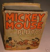 Mickey Mouse And Pluto The Racer Big Little Book 1936