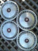 1978-78 Cadillac Deville Wheelcovers Hubcaps Hub Caps