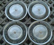 1971-72 Cadillac Deville Wheel Covers Hubcaps Hubcap