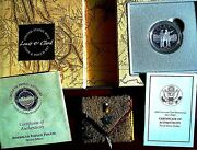 2004 Lewis And Clark Coin And Pouch Bicentennial Proof Silver Commemorative Dollar