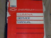 1991 Chevy Lumina Carshop Manual With Service Updates