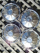 1961 Chevrolet Corvair Monza Hubcaps Wheel Covers Chevy