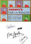 Monte Schultzsnoopy's Guide To Writingsigned X4ray Bradbury+others