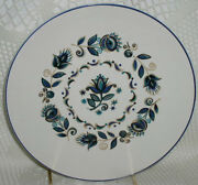 Taylor Smith And Taylor Dutch Onion Salad Plate Tst