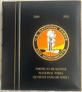 2010-2021 Bu National Park Quarters - America The Beautiful Complete Collection