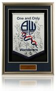 Bolton Wanderers 2010/11 Squad Hand Signed Pennant New