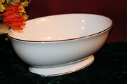 Lenox Herald Square White Open Vegetable Bowl New Usa Free Shipping