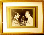 Gerald Ford Signed Photo And Framed Pa131