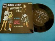 Jeannie C. Riley Harper Valley P.t.a 1968 Israel Only 1st Press 4xtrack 7 Ep Nm